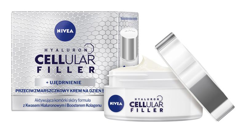 NIVEA® HYALURON CELLULAR FILLER Przeciwzmarszczkowy Krem nadzień (2)