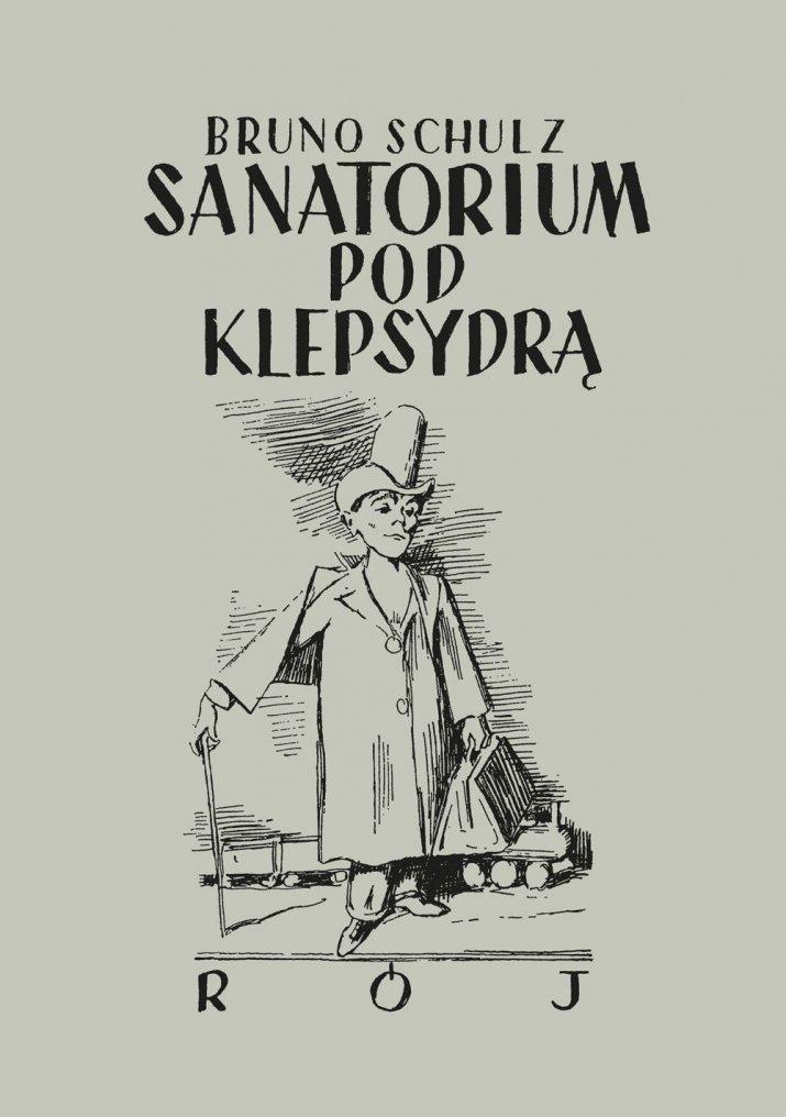 Ksiazka - Bruno Sanatorium pod klepsydra