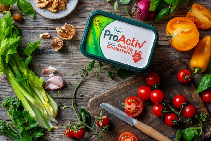 Flora ProActiv_stol warzywa