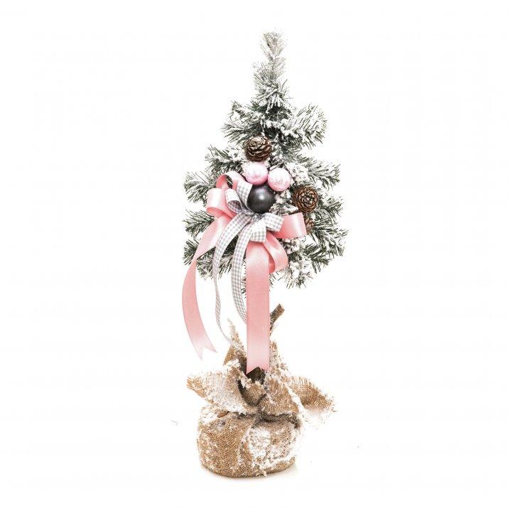 Choinka dekorowana śnieżona Candy, 50 cm, 54,90 zł