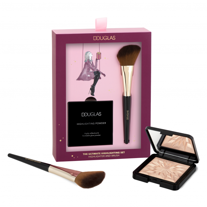 Zestaw z highlaterem  douglas-collection-xmas20-the-utimate-highlighting-set-pack-products-4036221981503