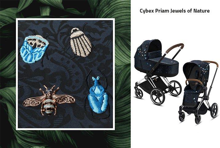 4 cybex priam jewels of nature bez loga
