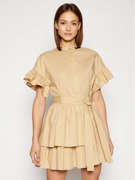 twinset879twinset-sukienka-codzienna-211tt2459-bezowy-regular-fit
