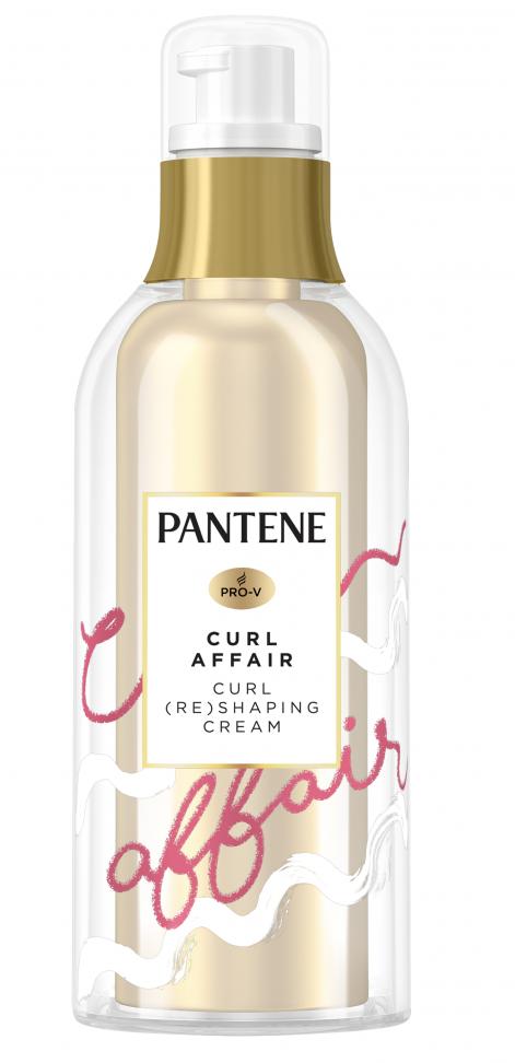 Pantene Waterless_Curl Affair krem modelujacy dowłosów kręconych