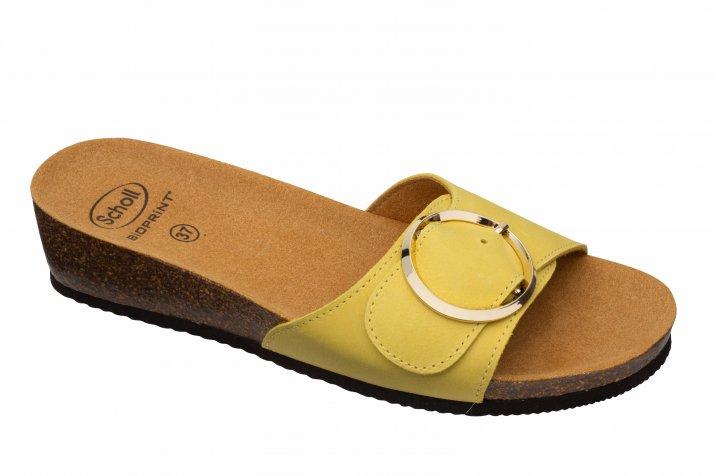 Amalfi Mule Med żółty