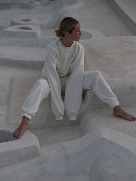muuv 319 i319  6964-bluza-oversize-mild-cotton-off-white-spodnie-dresowe-z-wysokim-stanem-mild-cotton-off-white-1