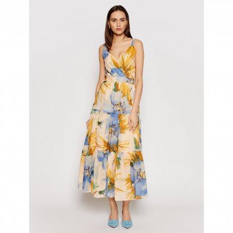 1029 twinset-sukienka-wieczorowa-211mt2665-kolorowy-regular-fit