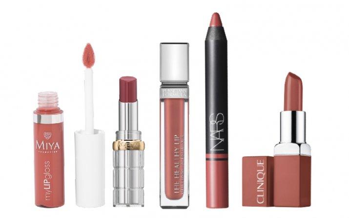 naturalny makijaż_szminki błyszczyki